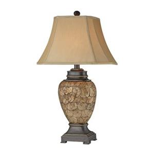Stein World  Cape Horn Urn Shell Table Lamp