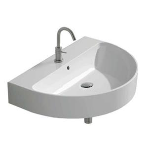 WS Bath Collections 27.5-in x 18.5-inWall Mounted Bathroom Sink