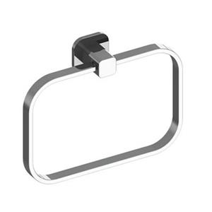 WS Bath Collections Deva Chrome Towel Ring