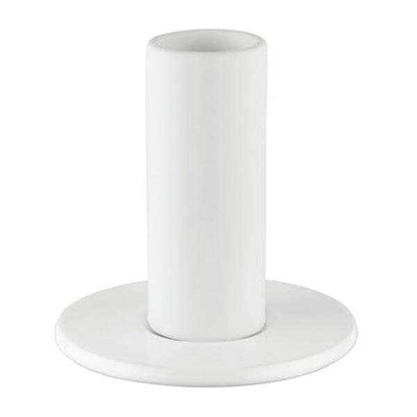 WS Bath Collections White Ceramic Toothbrush Holder
