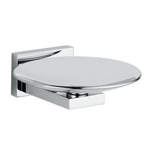 WS Bath Collections Carmel  Chrome Wall Mounted Soap Dish