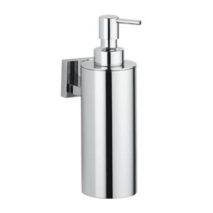 WS Bath Collections Caramel 7.5-in Chrome Wall Mounted Soap Dispenser