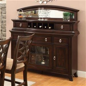 Homelegance Keegan 36-in x 56.25-in Brown Server