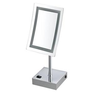 Nameeks Glimmer 8.7-in x 6.3-in LED Light Free Standing Make-Up Mirror