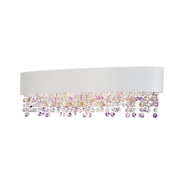 Eurofase Romanelli White 6-Light Bath Bar Light