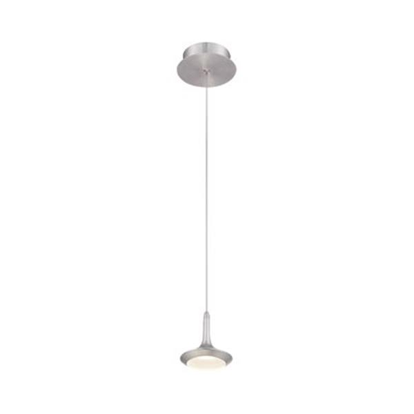 Eurofase Knoll Collection 5-in x 5-in Aluminum Mini LED Pendant Light