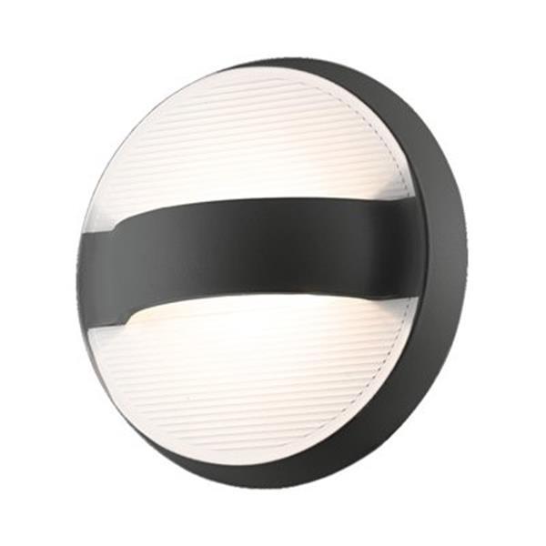 Eurofase Bay LED Outdoor Dark Gray Sconce