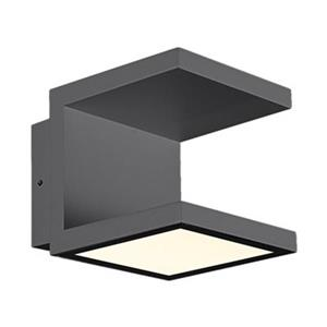 Eurofase Rail 120-Light Dark Gray Outdoor LED Sconce