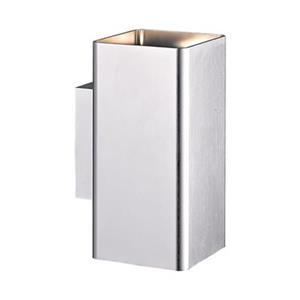 Eurofase Lungo 2-Light Brushed Aluminium Outdoor LED Sconce