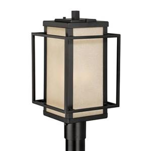 Vexcel Lighting Cascadia Hyde Park 9.5-in Espresso Bronze Outdoor Post