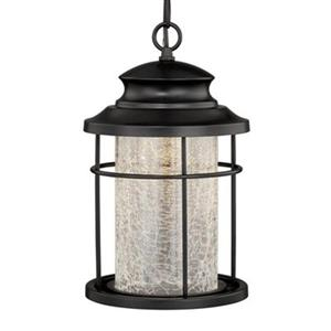Cascadia Lighting Melbourne Collection 8-in x 13.25-in Oil-Rubbed Bronze Cylinder LED Pendant Light
