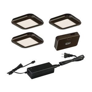 Cascadia Lighting Smart Low Profile Under Cabinet Puck Light Kit