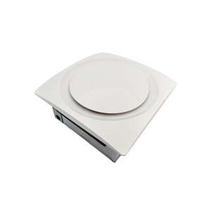 Aero Pure SlimFit Satin Nickel Bathroom Ventilation Fan