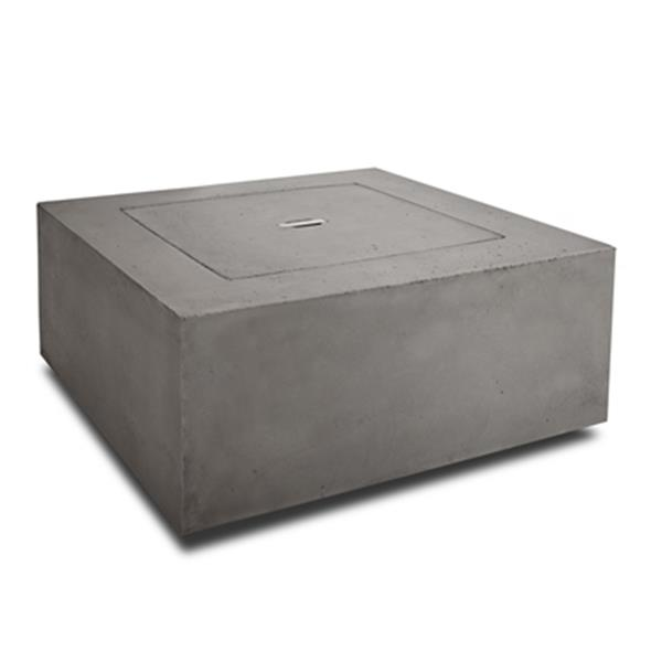 "Baltic Propane Fire Table - 24"" x 24"" x 4"" - Glacier Gray"