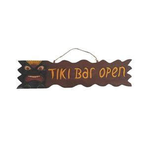 RAM Game 30-in Tiki Bar Open Sign