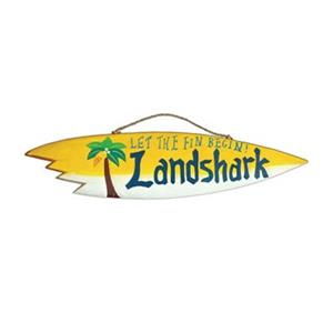 RAM Game Room Products 39.50-in Landshark Sign