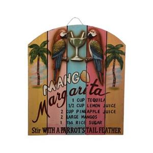 RAM Game Room Products 18-in x 15.50-in Mango Margarita Sign