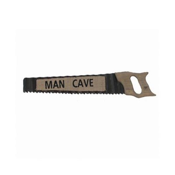 RAM Game Room 29-in Metal Man Cave Saw Sign