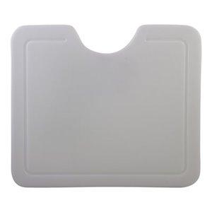 ALFI Brand 6.50-in x 14.50-in White Polyethylene Cutting Board
