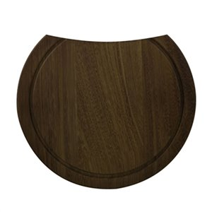 ALFI Brand 15-in Round Wood Cutting Board