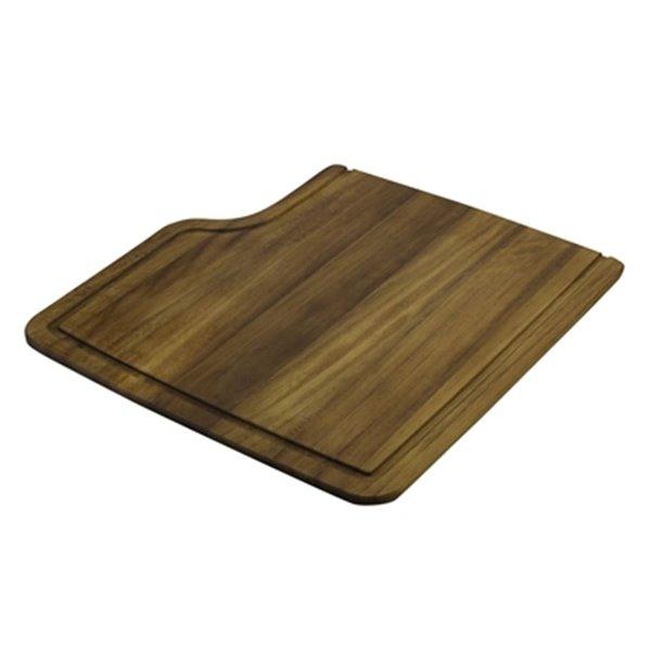 ALFI Brand 18.50-in x 7.50-in Rectangular Wood Cutting Board