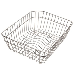 ALFI Brand 12.5-in x 6.5-in Stainless Steel Basket