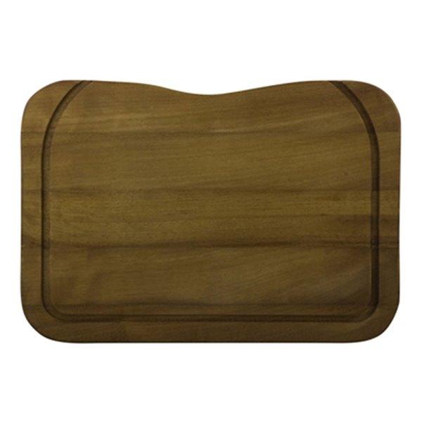ALFI Brand 17.5-in x 12.25-in Rectangular Wood Cutting Board