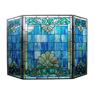 Chloe Lighting CH1F397BV44-GFS Keanu Tiffany-Glass Victorian