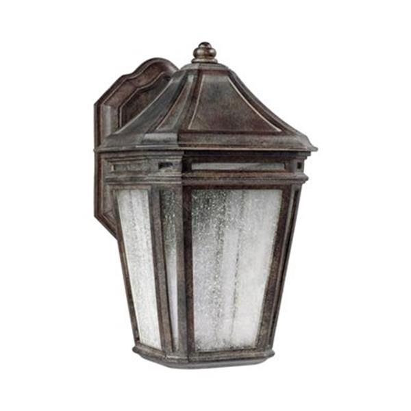 Feiss Londontowne 16-in Black LED Outdoor Sconce