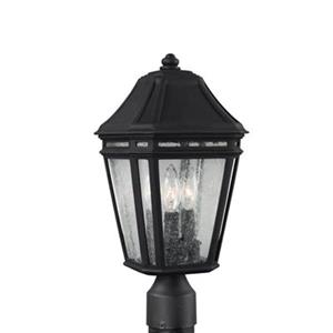 Feiss Londontowne LED Black Post Mount Light