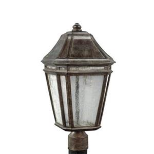 Feiss Londontowne LED Weathered Chestnut Post Light
