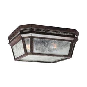 Feiss Londontowne Black 2-Light Outdoor Close to Ceiling Light.