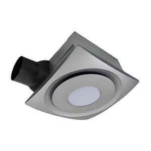 Aero Pure SlimFit 13 Watt LED Satin Nickel Bathroom Fan