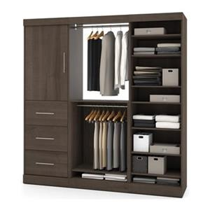 Bestar 25850 Nebula by Bestar 80-in 1 Door/3 Drawer Storage