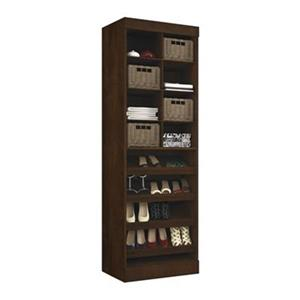 Bestar Pur 25-in Brown Multi Storage Cubby Unit