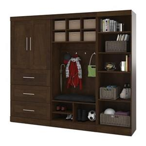 Bestar Pur Collection 97-in Mudroom Kit