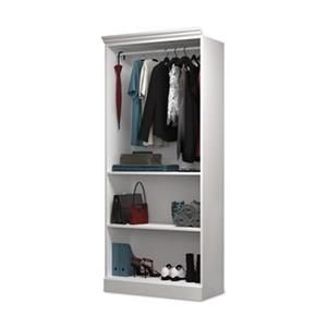 Bestar Versatile White 36-in Closet Storage Shelf