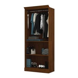 Bestar Versatile Brown 36-in Closet Storage Unit