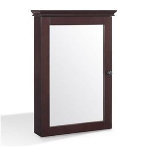 Crosley Furniture CF7005 Lydia Mirrored Wall Cabinet,CF7005-