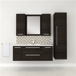 Cutler Kitchen & Bath Silhouette Collection 23-in x 30-in Rectangle Bathroom Mirror