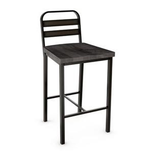 Amisco Accord 26-in Metal Bar Stool