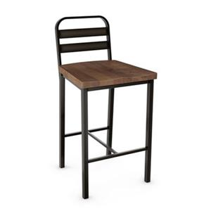 Amisco Accord 30-in Metal Bar Stool