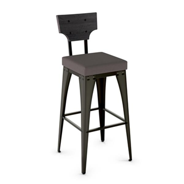 Amisco Rally 30-in Metal Bar Stool