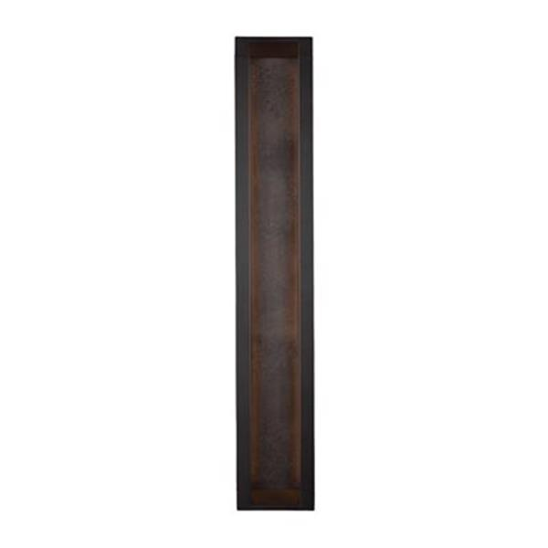Feiss Mattix 6-Light LED Bronze Outdoor Wall Sconce