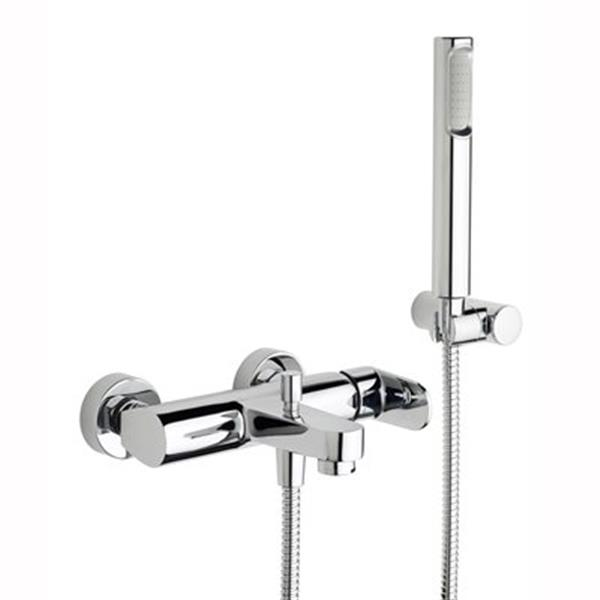 WS Bath Collections Candy Exposed Shower Mixer with Hand Shower
