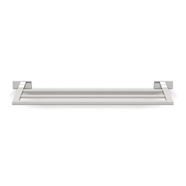 Ws Bath Collections Lea 26 40 In Polished Chrome Double Towel Bar Rona