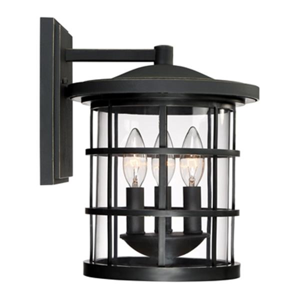 Quoizel Asheville 3-Light Outdoor Wall Lantern