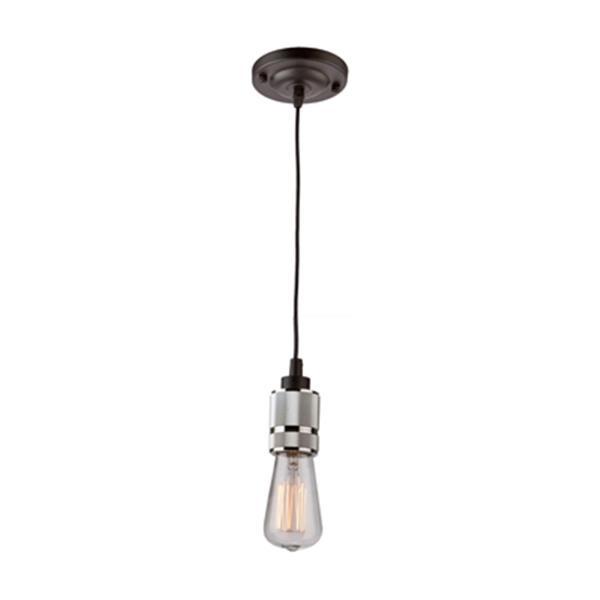Artcraft Lighting Jersey Collection 4.75-in Chrome Teardrop Mini Pendant Light