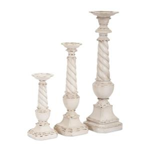 IMAX Worldwide Brannon Candle Holders (Set of 3)
