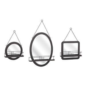 IMAX Worldwide Ella Elaine Shaving Mirrors  (Set of 3)